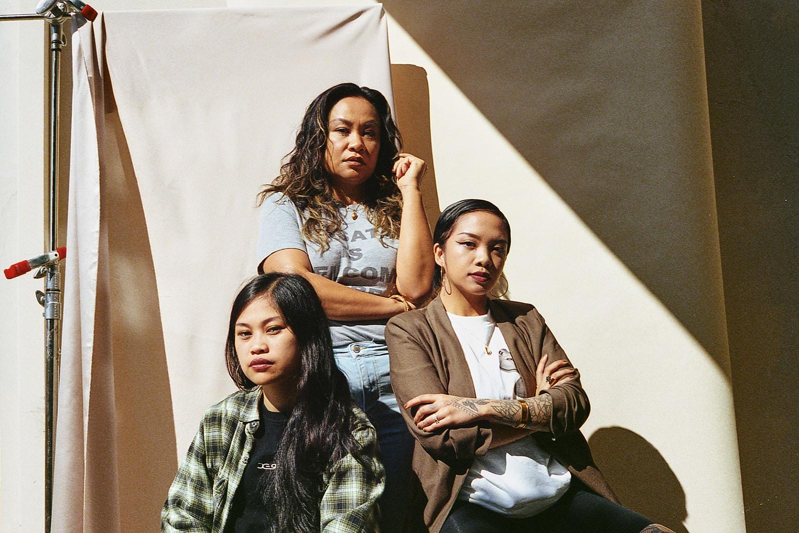 ruby ibarra klassy rocky rivera faith santilla filipino american music artists us song track collaboration circa19 immigrants culture rapper hip hop spoken word poet