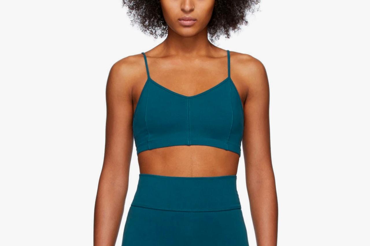 Workout Clothes Sports Bras Leggings Tights Activewear Sets Nike Off-White Virgil Abloh Logo Reebok Victoria Beckham Brown Beige Black Neon Pink Purple Swoosh