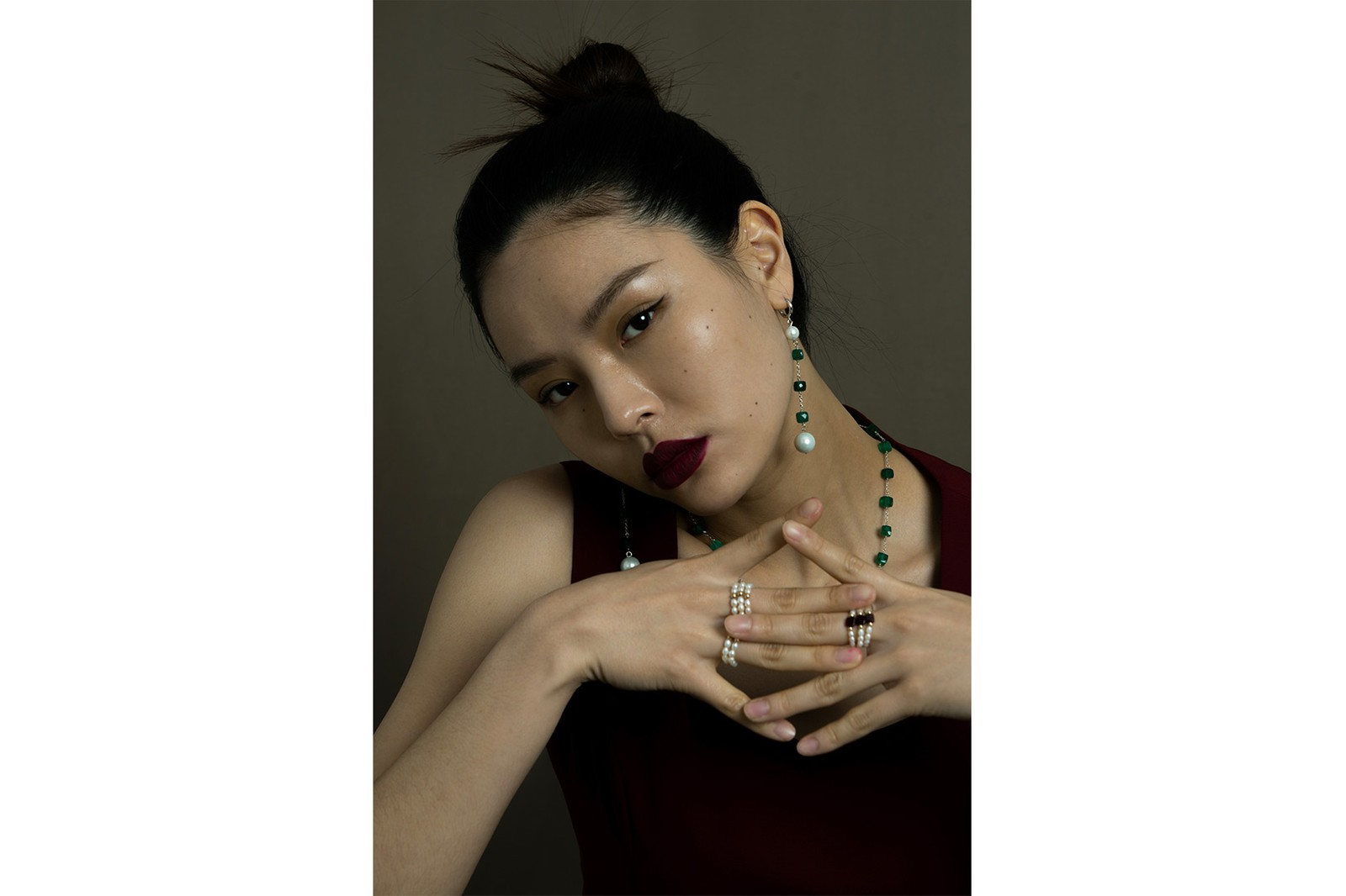 Portrait Report Korean Jewelry Brand Bold Chain Necklaces Earcuffs Earrings Sora Choi Heejung Park