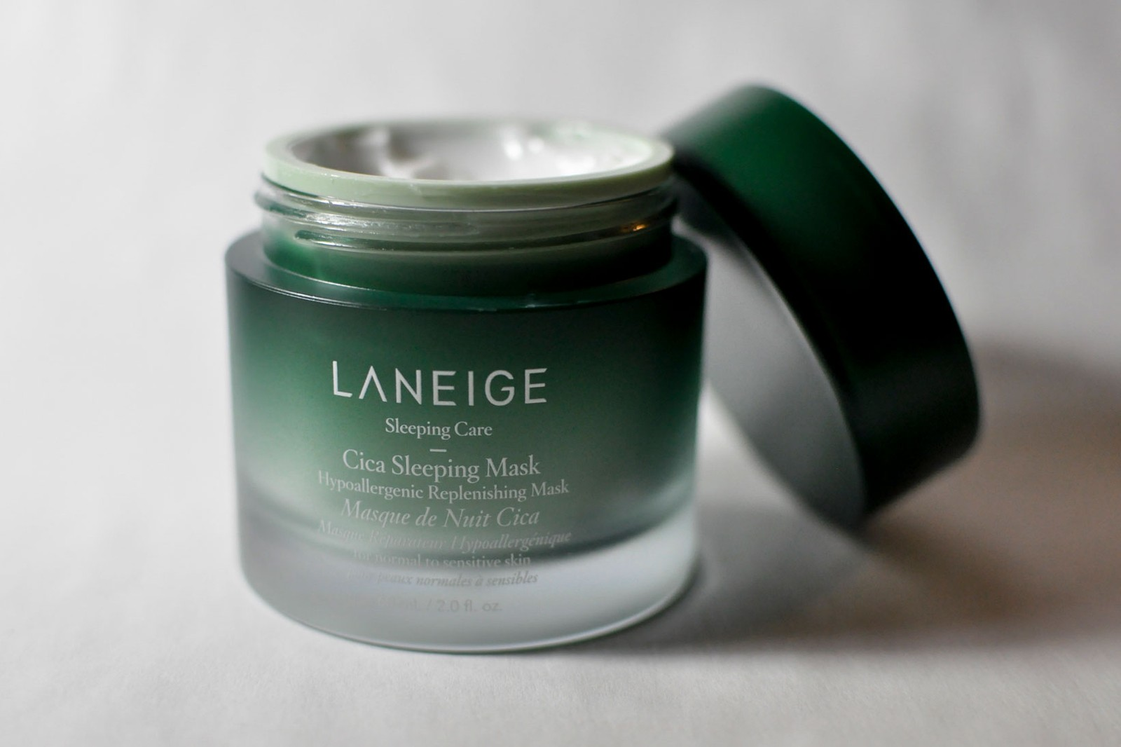 Laneige Cica Sleeping Mask Jar Bottle