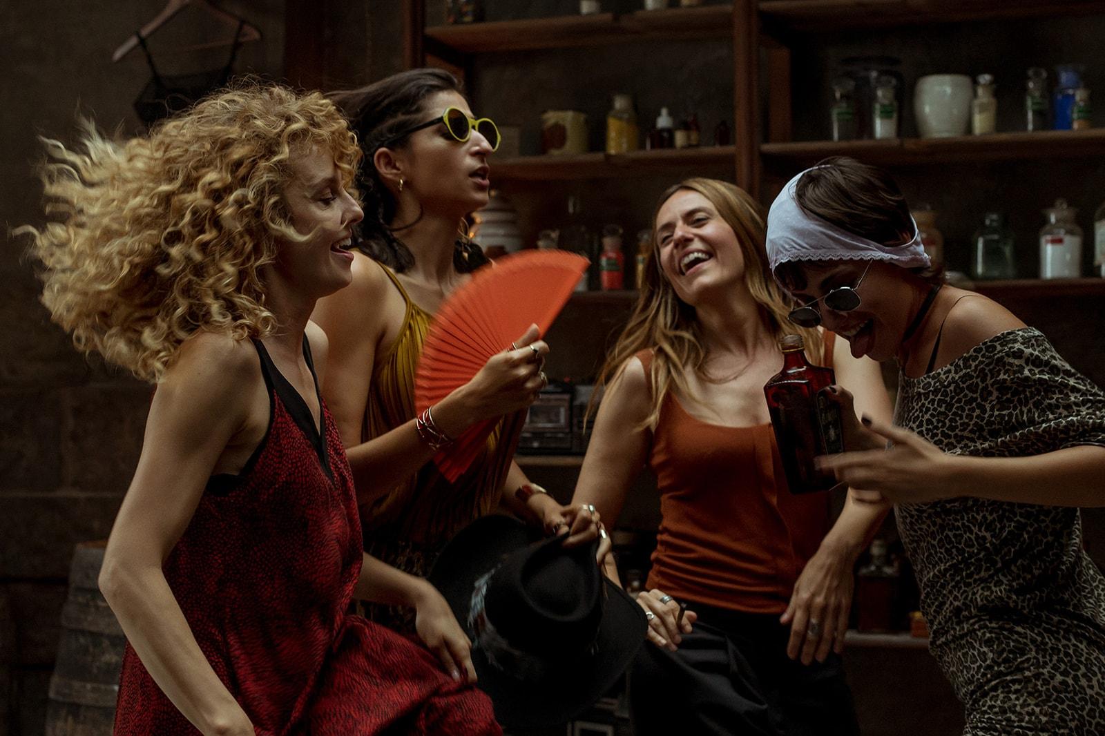 Money Heist La Casa de Papel Netflix Nairobi Mónica Gaztambide Stockholm Tokyo Lisbon Raquel Murillo Ursula Corbero Itziar Ituño Alba Flores Esther Acebo