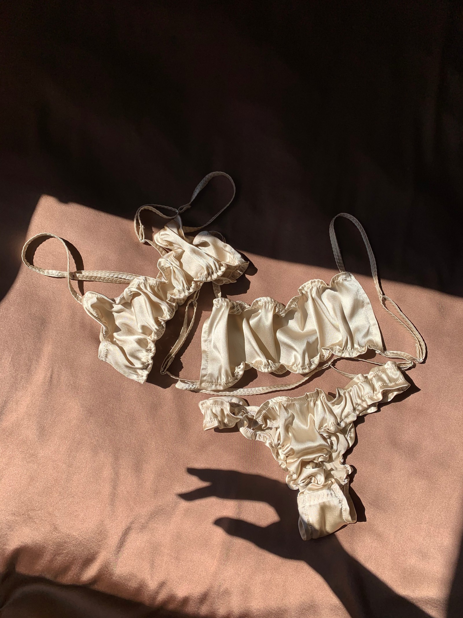 Lingerie Underwear Silk Soft and Wet Undies Softandwet Panties Bra Intimates Instagram Alice Brnra