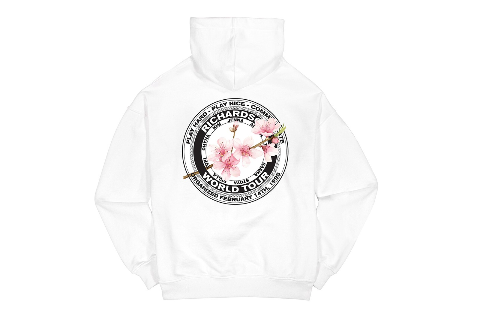 Richardson Cherry Blossom Teamster Capsule Collection Lala Takahashi Spring