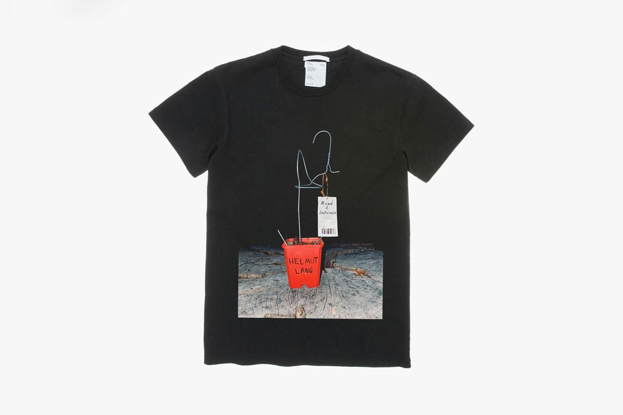 Helmut Lang T-Shirt Design Contest Winners Face Mask Painting