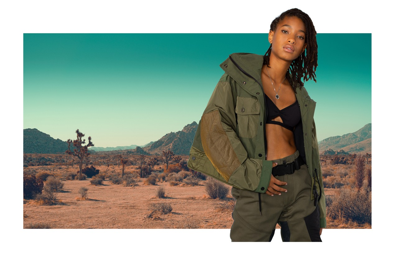 onitsuka tiger fall winter 2020 campaign collection willow smith brand ambassador