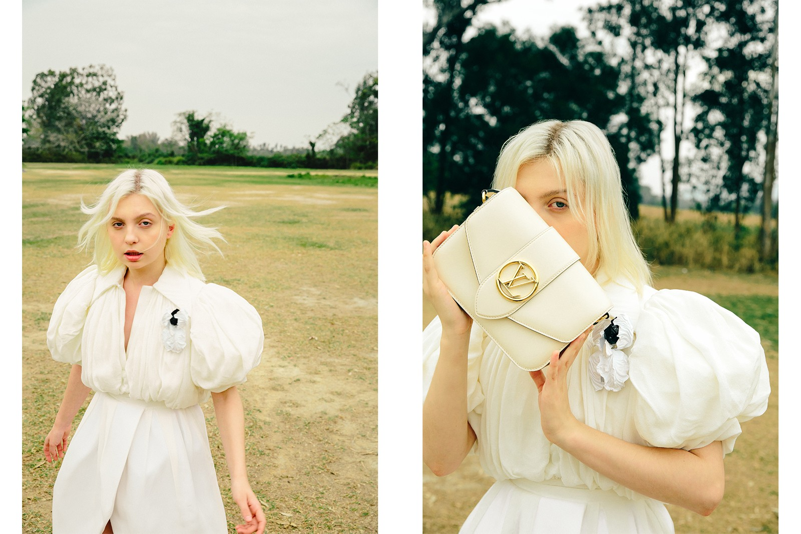 puffy sleeves trend female representation femininity simone rocha jacquemus cecilie bahnsen editorial