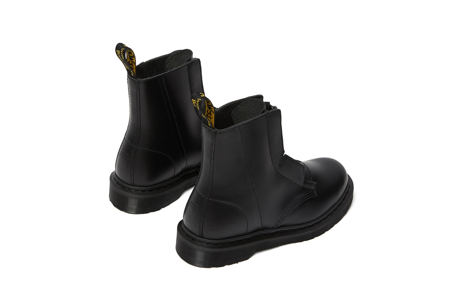 a cold wall dr martens collaboration 1460 remastered boots black shoes
