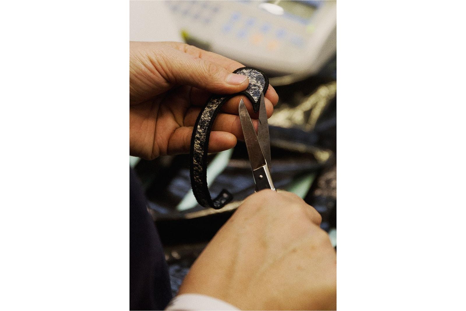 Dior x Air Jordan 1 OG High Top Sneaker Making Of Behind-the-Scenes Video