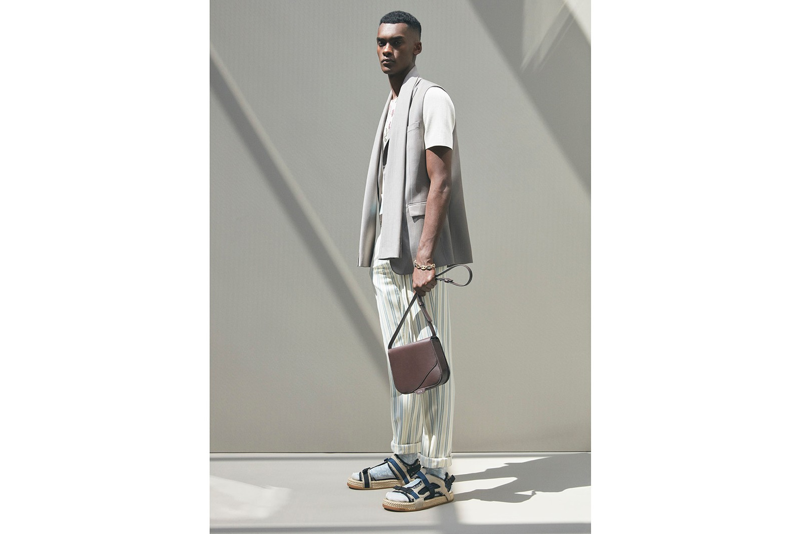 Dior Spring/Sumer 2021 Men's Collection Kim Jones Amoako Boafo Collaboration Lookbook Paris Fashion Week