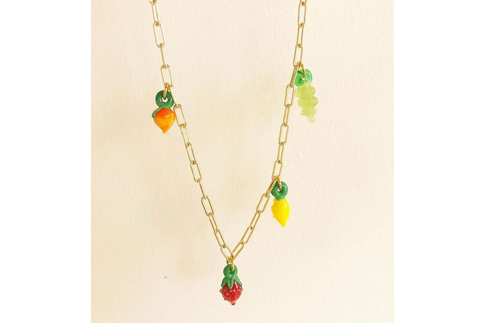 jean riley jewelry brand australian summer fruits sustainable accessories rings necklaces earrings