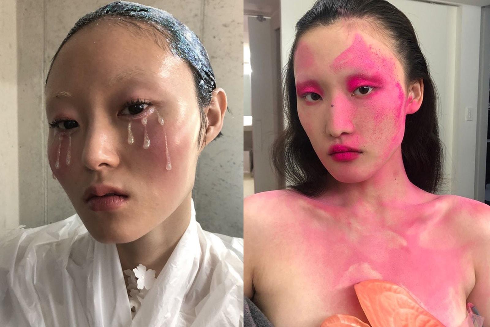 k-beauty makeup artist joynara won joyeon yoonyoung bae hoyeon jung beauty models fashion photoshoot