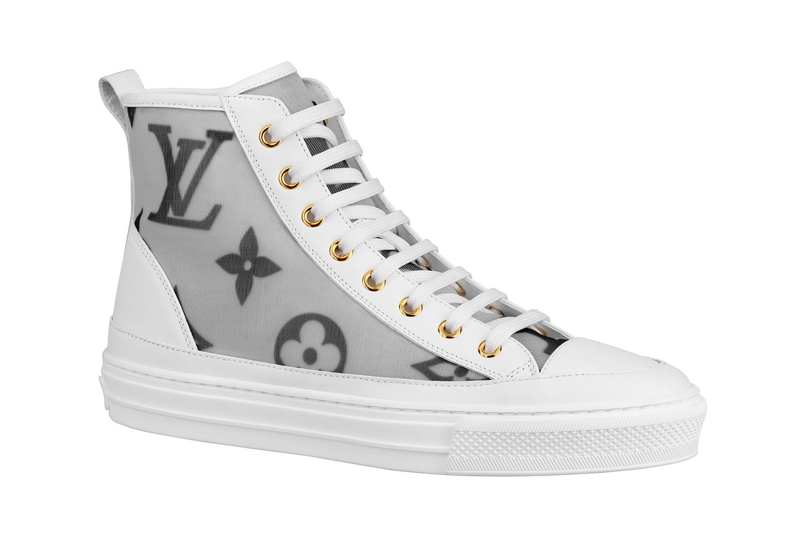 louis vuitton prefall sneakers frontrow boombox stellar lv monogram price