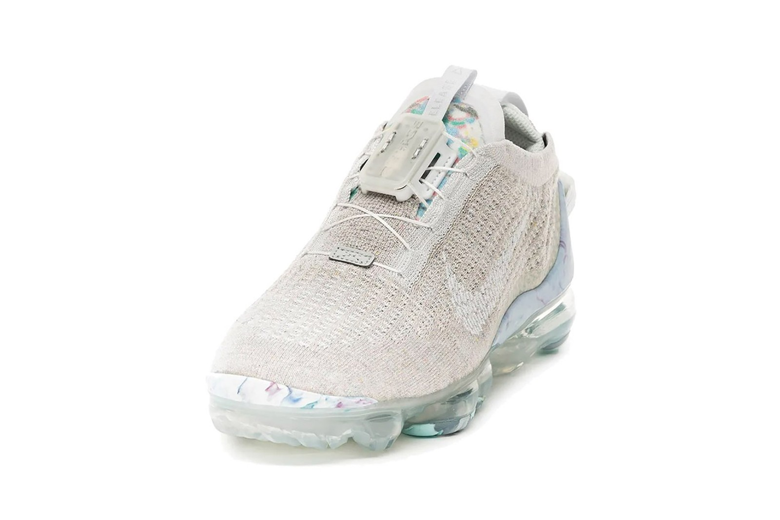 nike air vapormax 2020 sustainable sneakers white pastel blue purple colorway sneakerhead shoes footwear