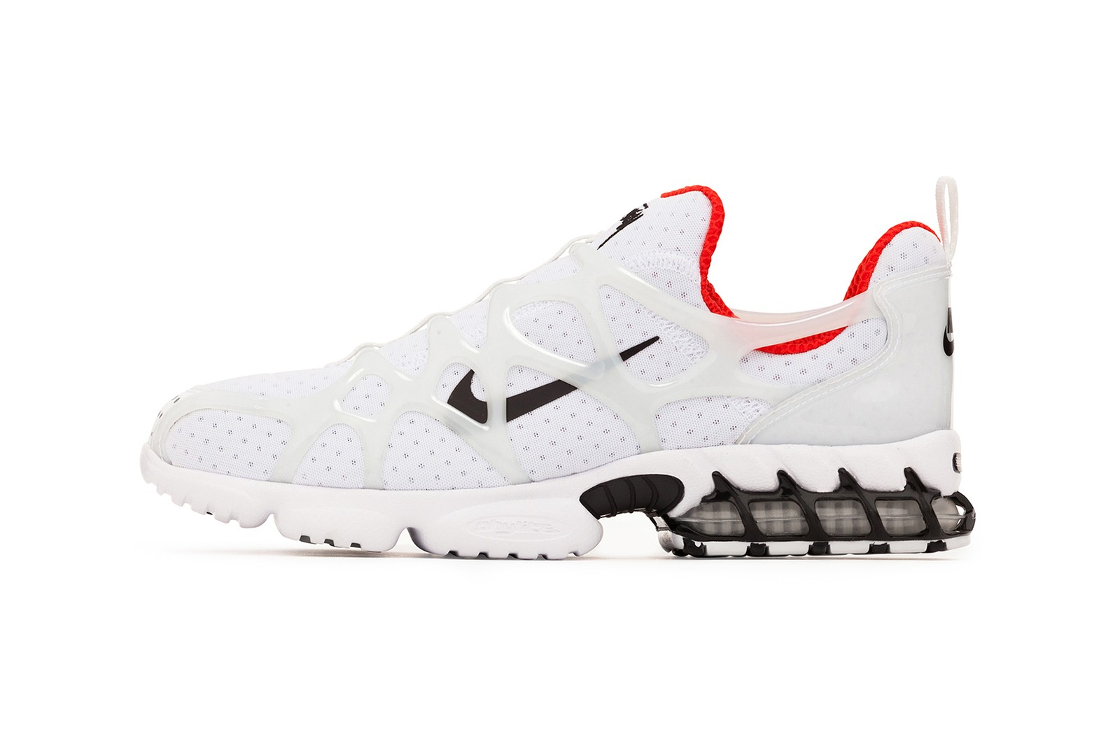 nike stussy collaboration air zoom kukini sneakers black white red neon green shoes footwear sneakerhead