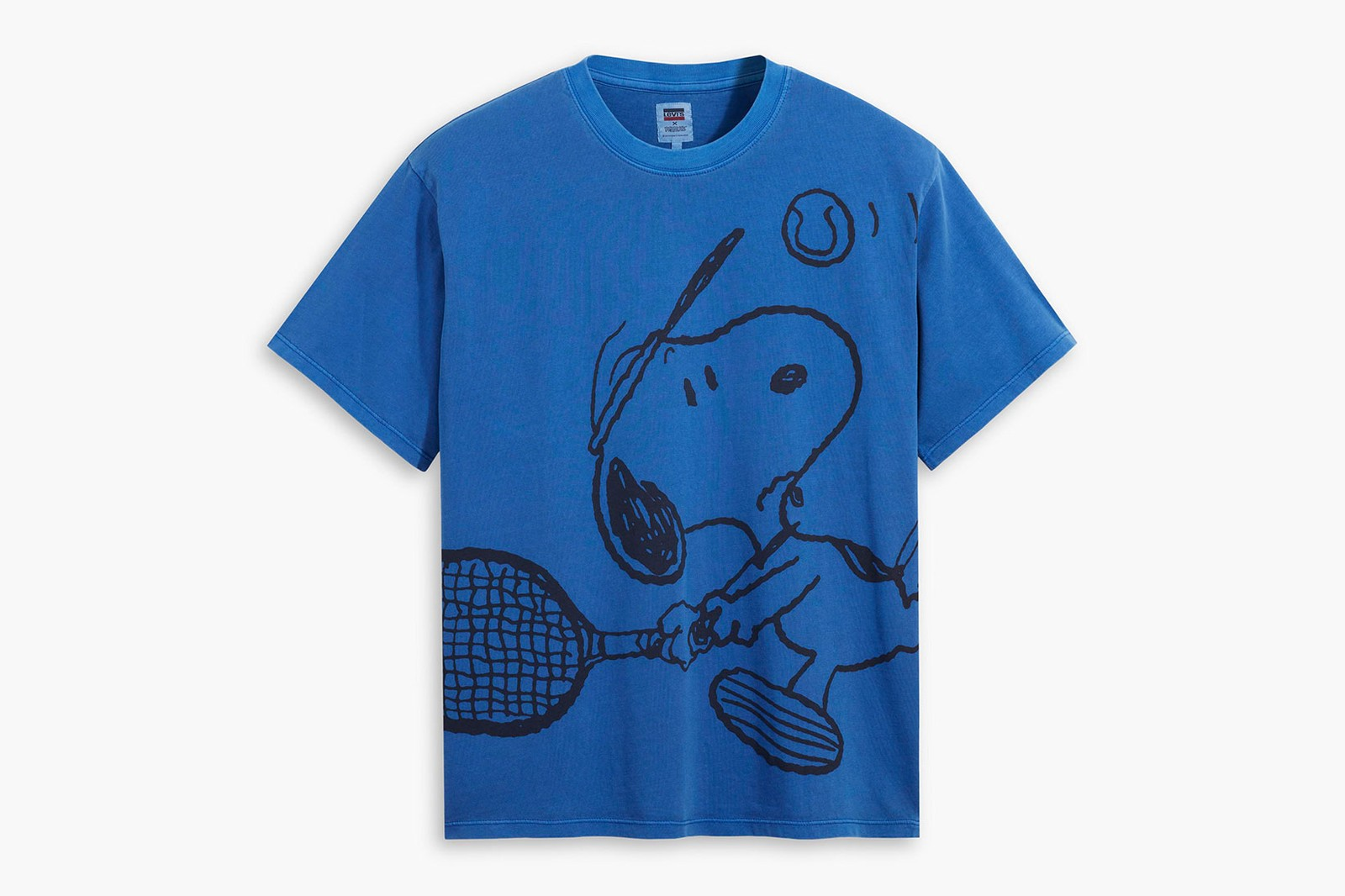 peanuts levis summer collaboration snoopy charlie brown sweatshirts bucket hats