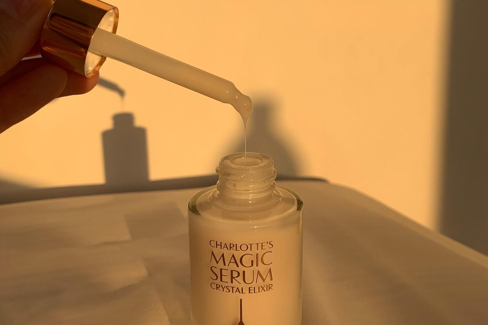charlotte tilbury magic serum crystal elixir skincare product sunlight formula