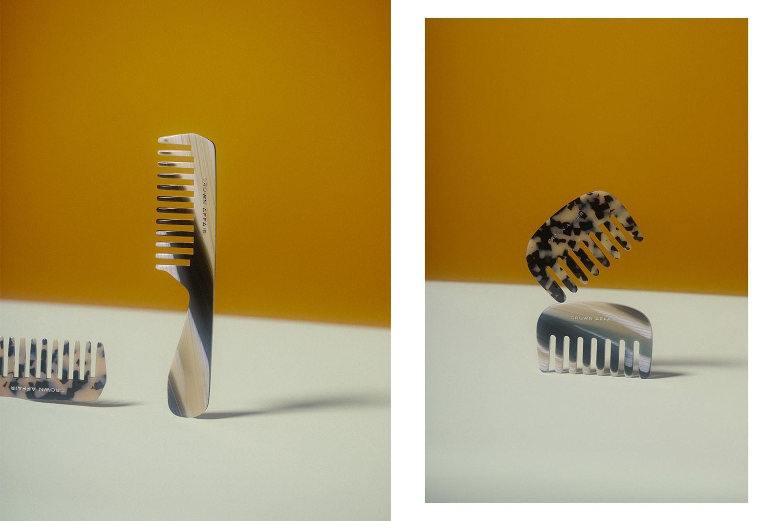 haircare brush comb crown affair no. 001 002