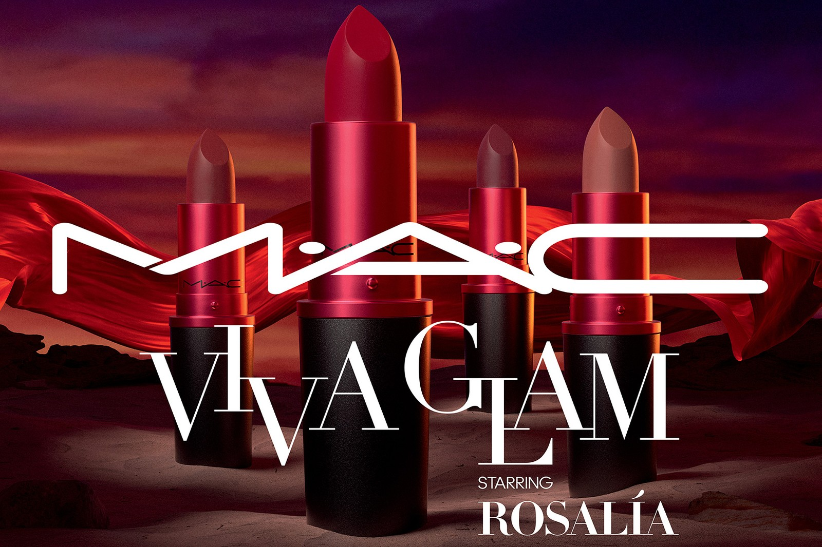 rosalia mac cosmetics viva glam vg26 ambassador lipsticks matte red lgbtq hiv aids charity