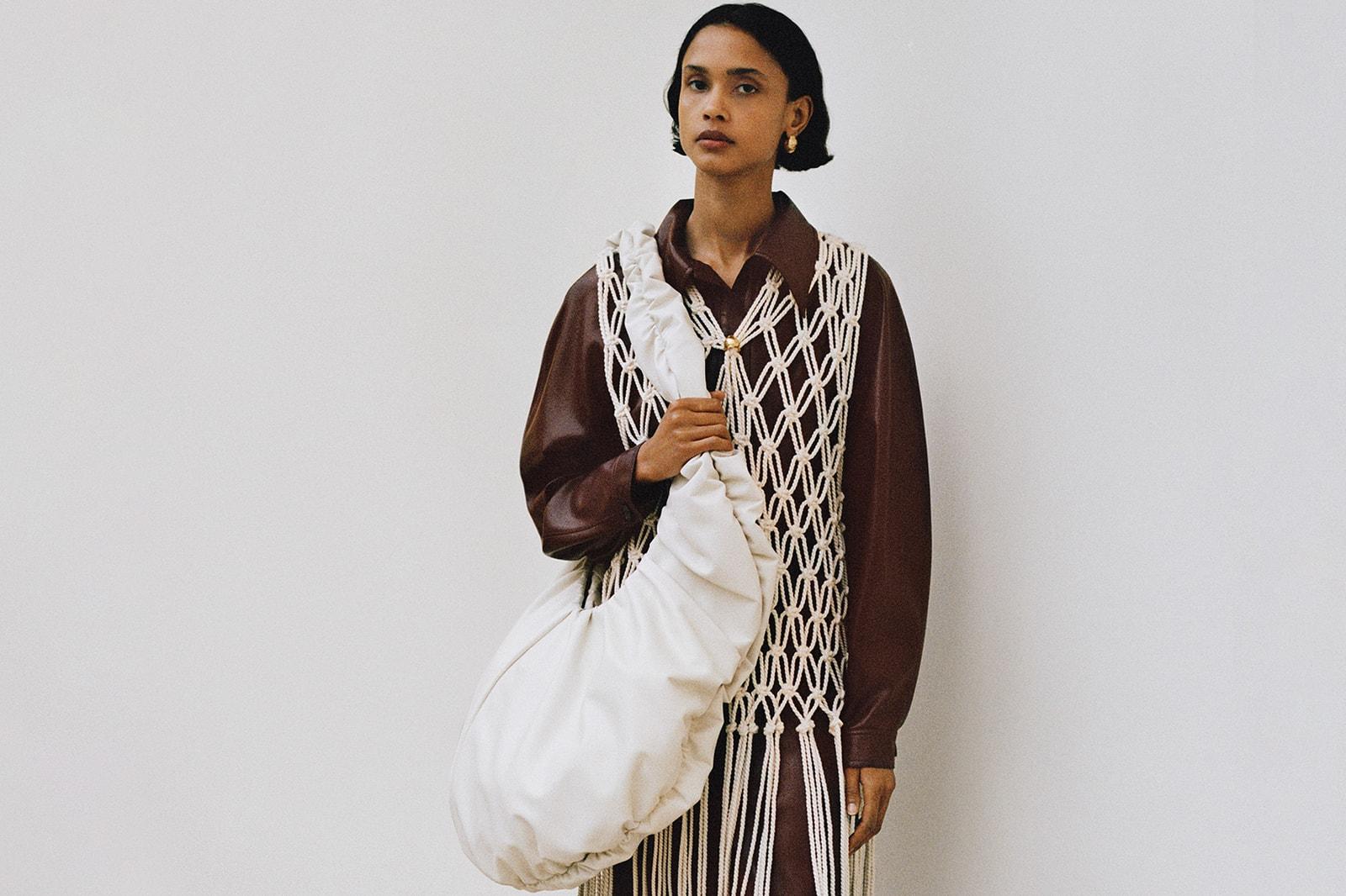 nansuhka vegan sustainable fashion fall winter 2020 resort 2021 collection lookbook Sandra Sandor