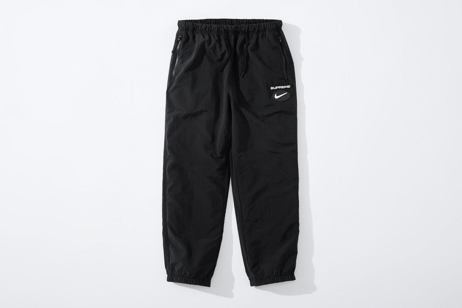 supreme nike fall collaboration release info anoraks hoodies soccer jerseys shorts sweatshirts