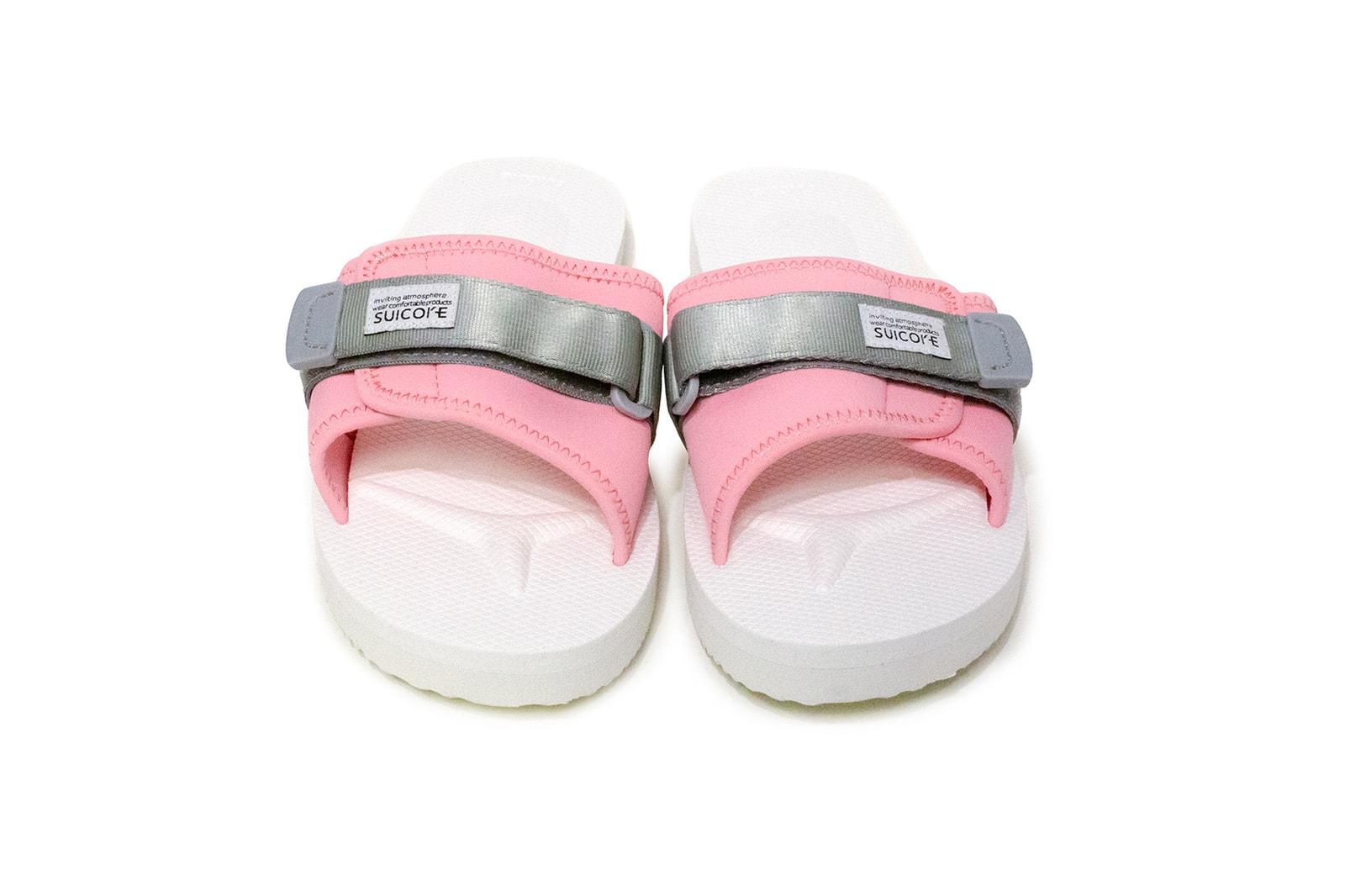 suicoke sandals slides cherry blossom pastel pink moto cab kisee vpo padri white summer shoes release