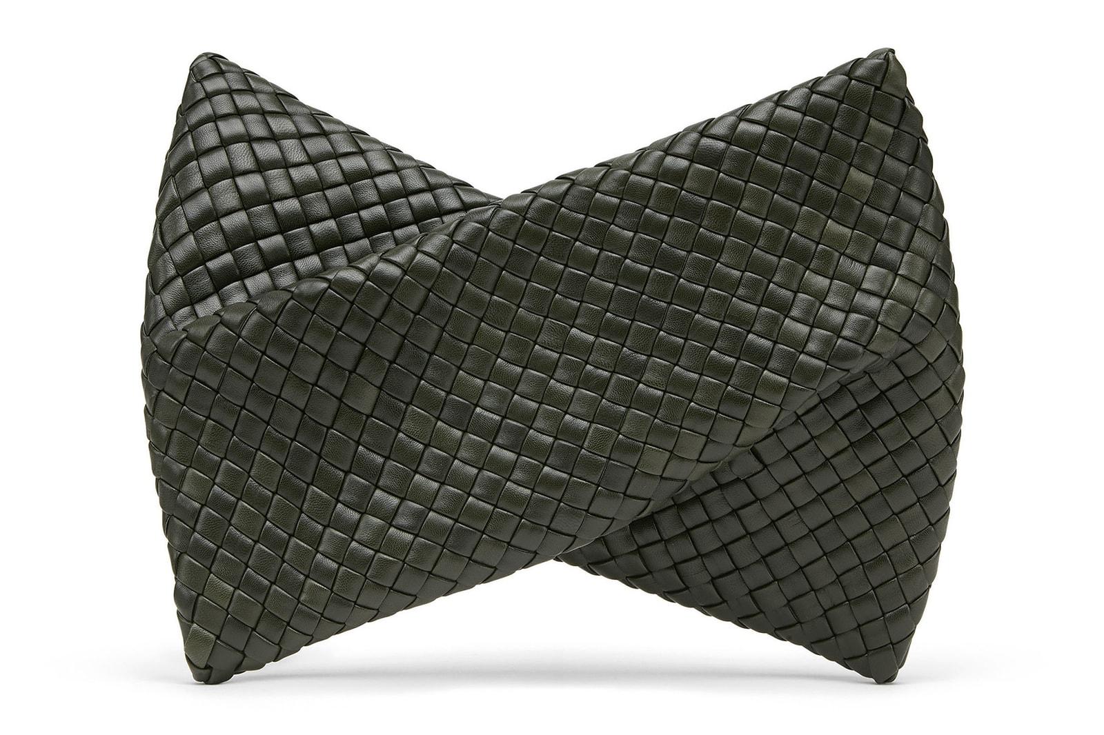 bottega veneta fall winter campaign crisscross clutch fold clasp bag lean puddle boot accessories tyrone lebon