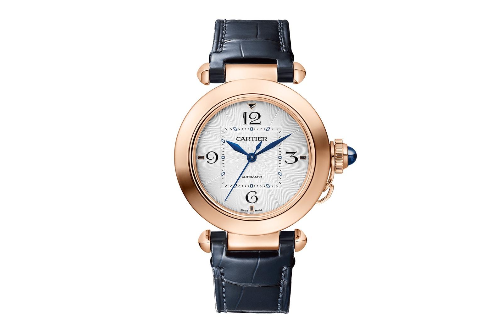 cartier pasha de watches luxury collection accessories straps closer look tourbillon skeleton perfume