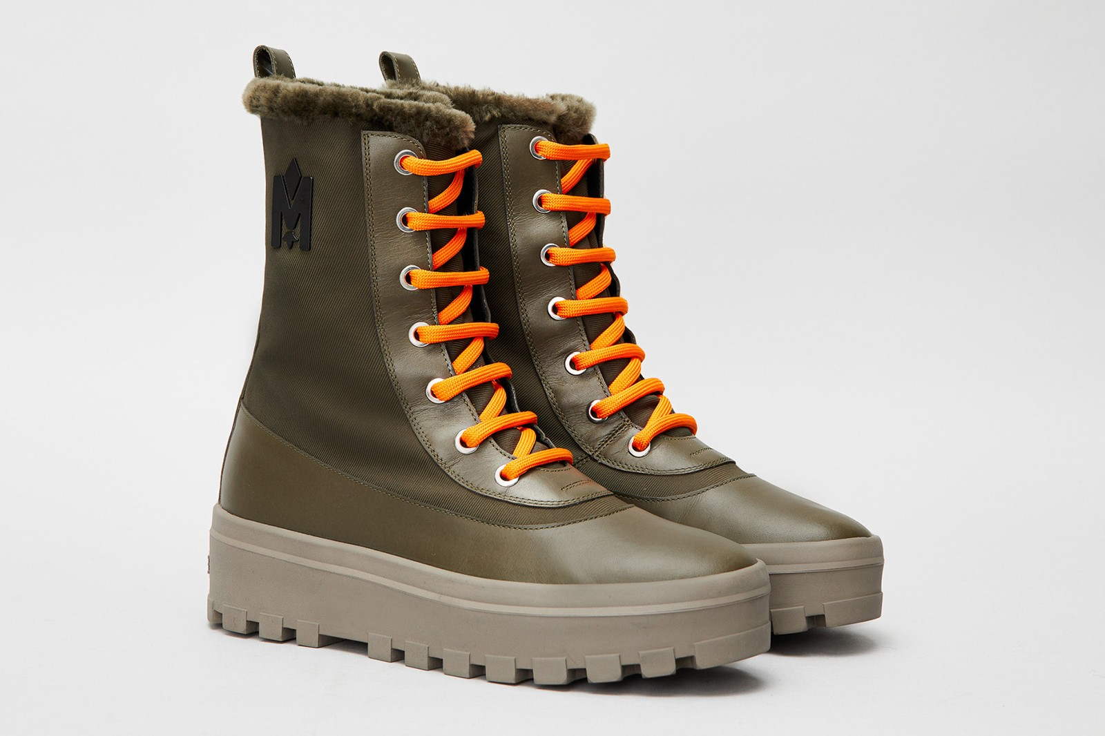 mackage boots winter cold weather warm chunky unisex hero noble rebelle warrior footwear release