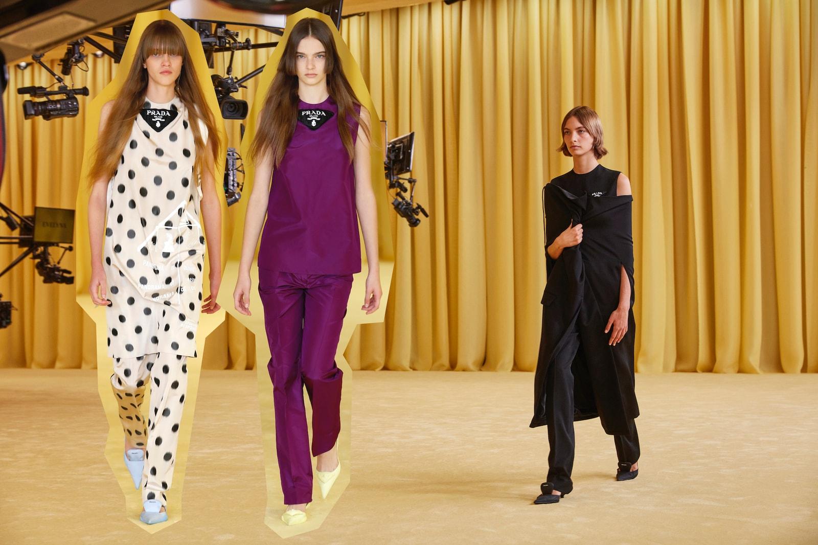 Raf Simons Miuccia Prada Debut Collection SS21 Show Op-Ed Review Set