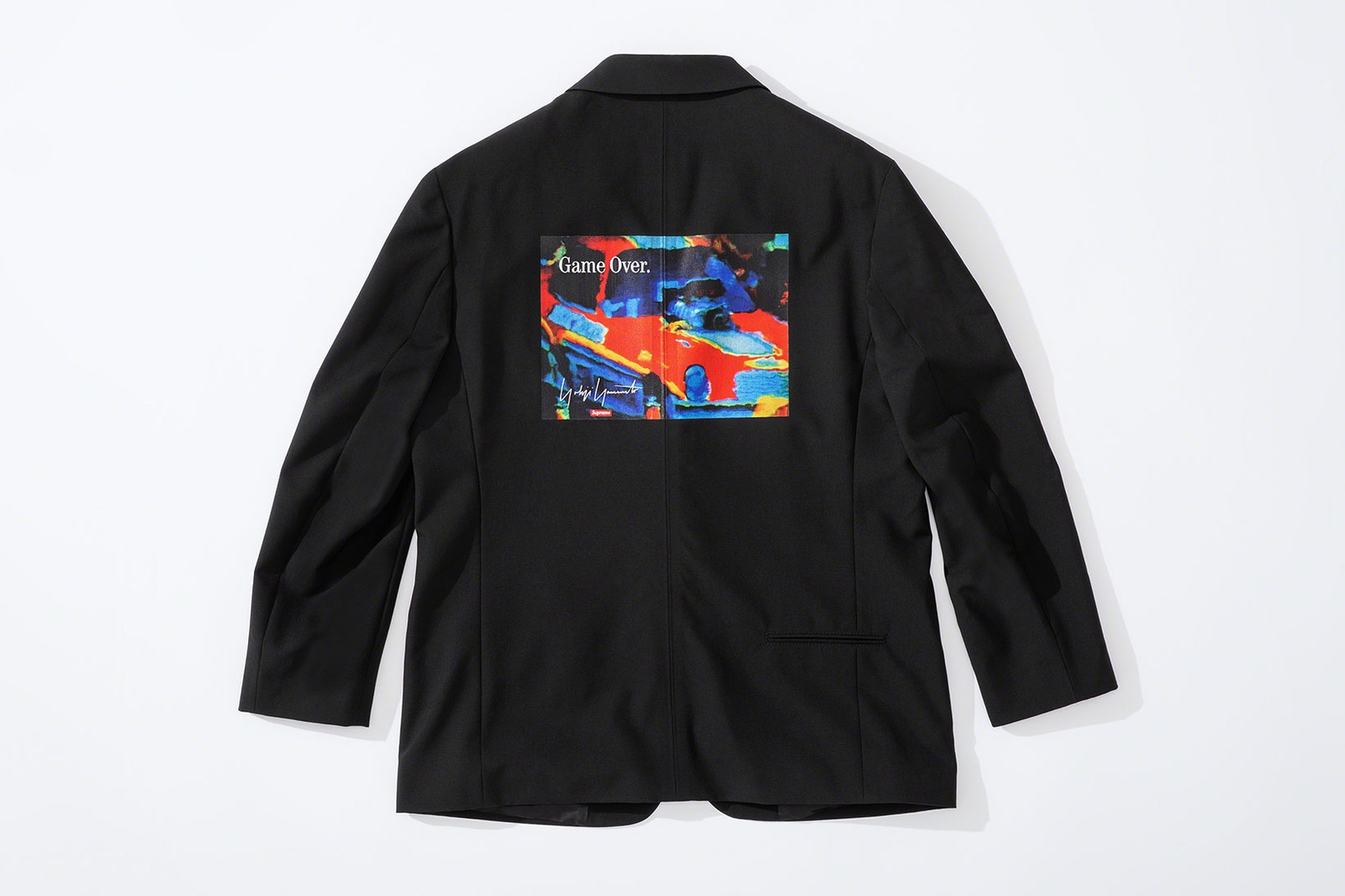supreme yohji yamamoto collaboration lookbook puffers suits jackets knit sweaters hoodies release info