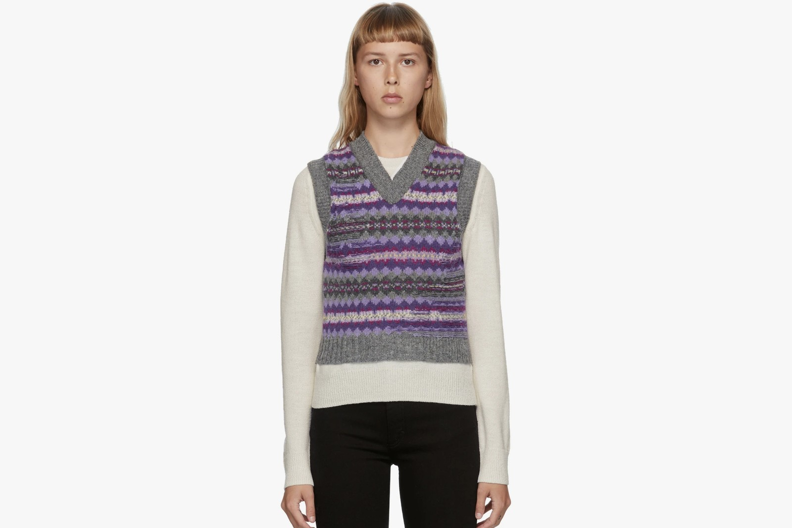 Where to buy best Sweater Vest Trend Acne Studios Miu Miu COS Marc Jacobs Knit Fall Winter