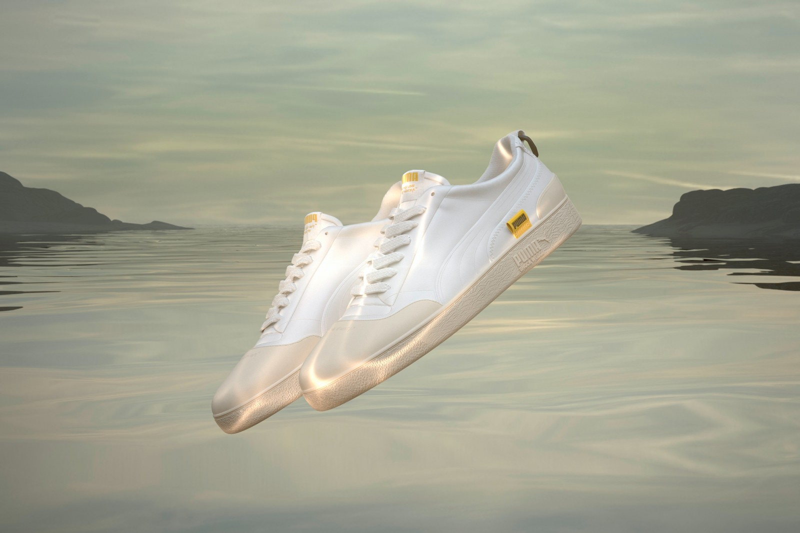 PUMA Central Saint Martins collaboration collection fashion apparel footwear sustainability LOVE water manufacturing techniques