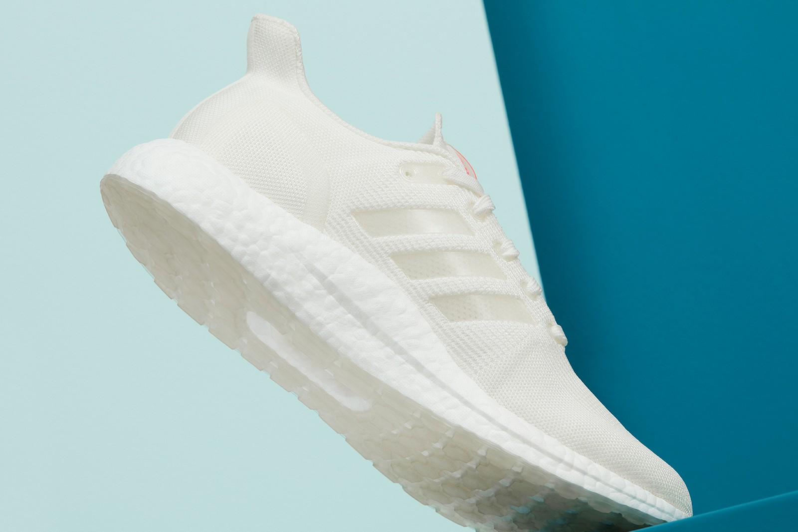 adidas ultraboost dna loop made to be remade sneakers sustainable recyclable white colorway orange footwear sneakerhead