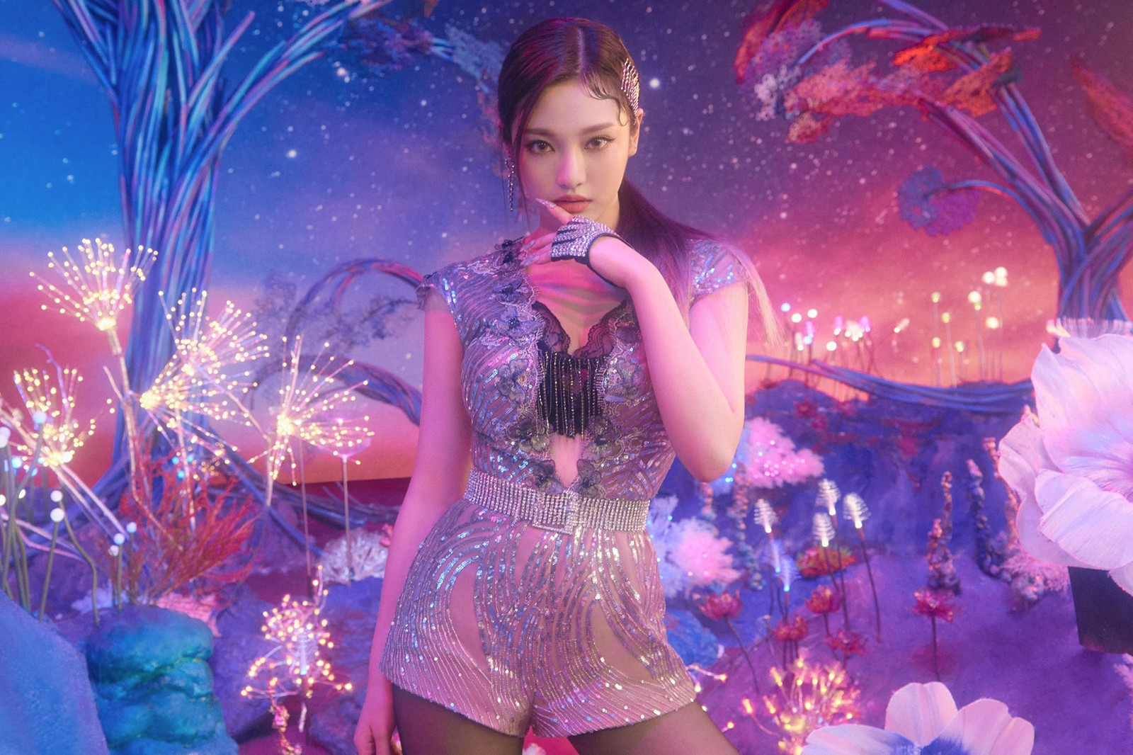 sm entertainment aespa new k-pop girl group virtual human ningning