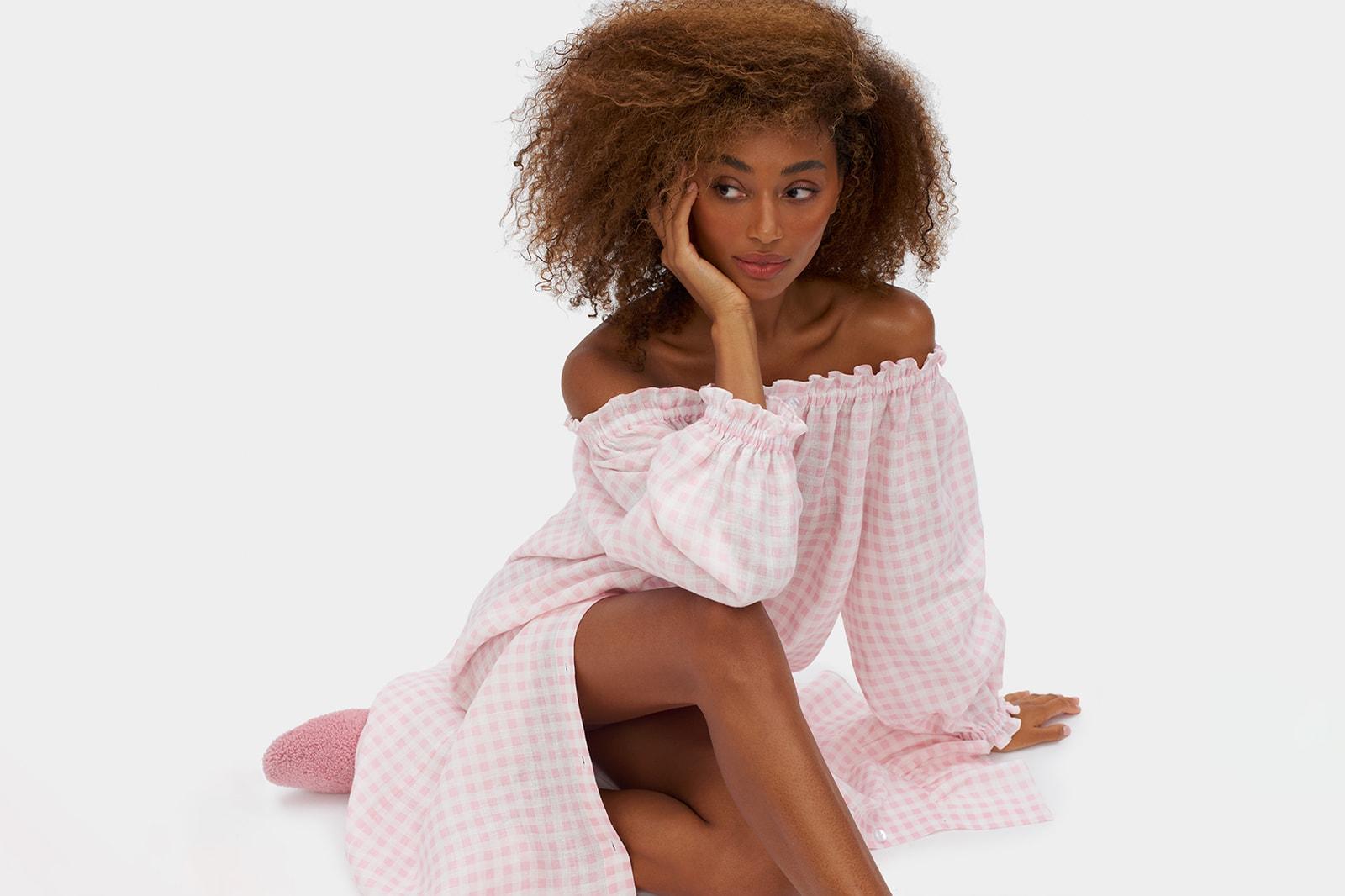 breast cancer awareness month 2021 araks lingerie brand red bra underwear charity donation