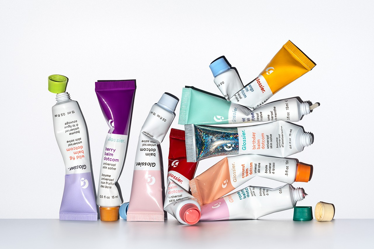 Glossier Balm Dotcom Wild Fig Lip Balm Universal Skin Salve Skincare Beauty Product