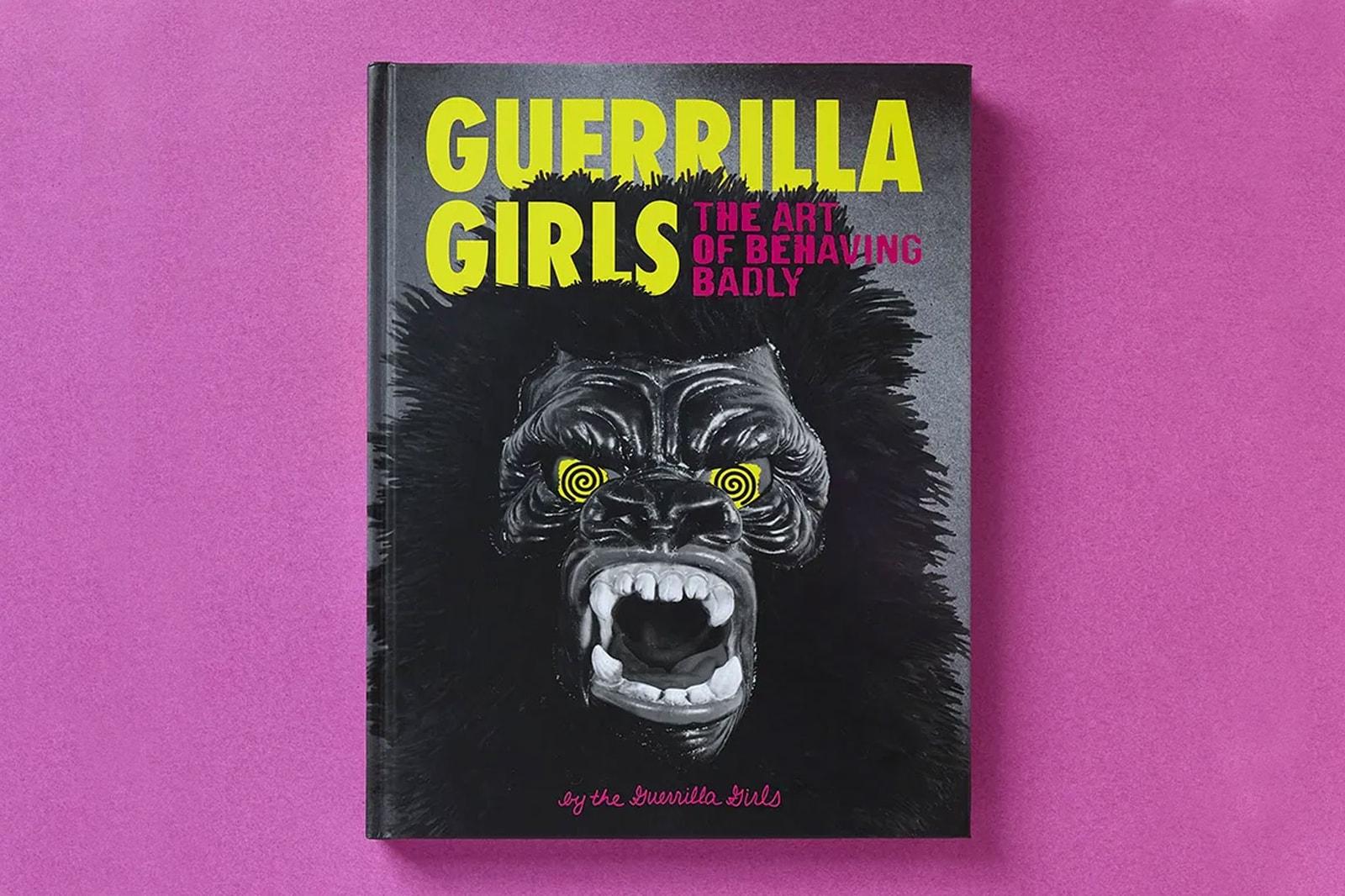 the guerrilla girls art of behaving badly retrospective book release interview art feminism activism