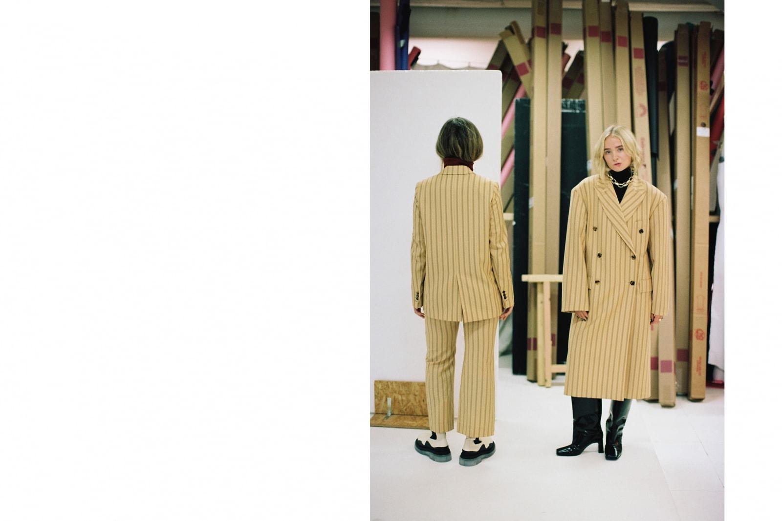 Hobnob Journal Interview Fanny Ekstrand Linn Eklund Editorial Fashion Website Blog