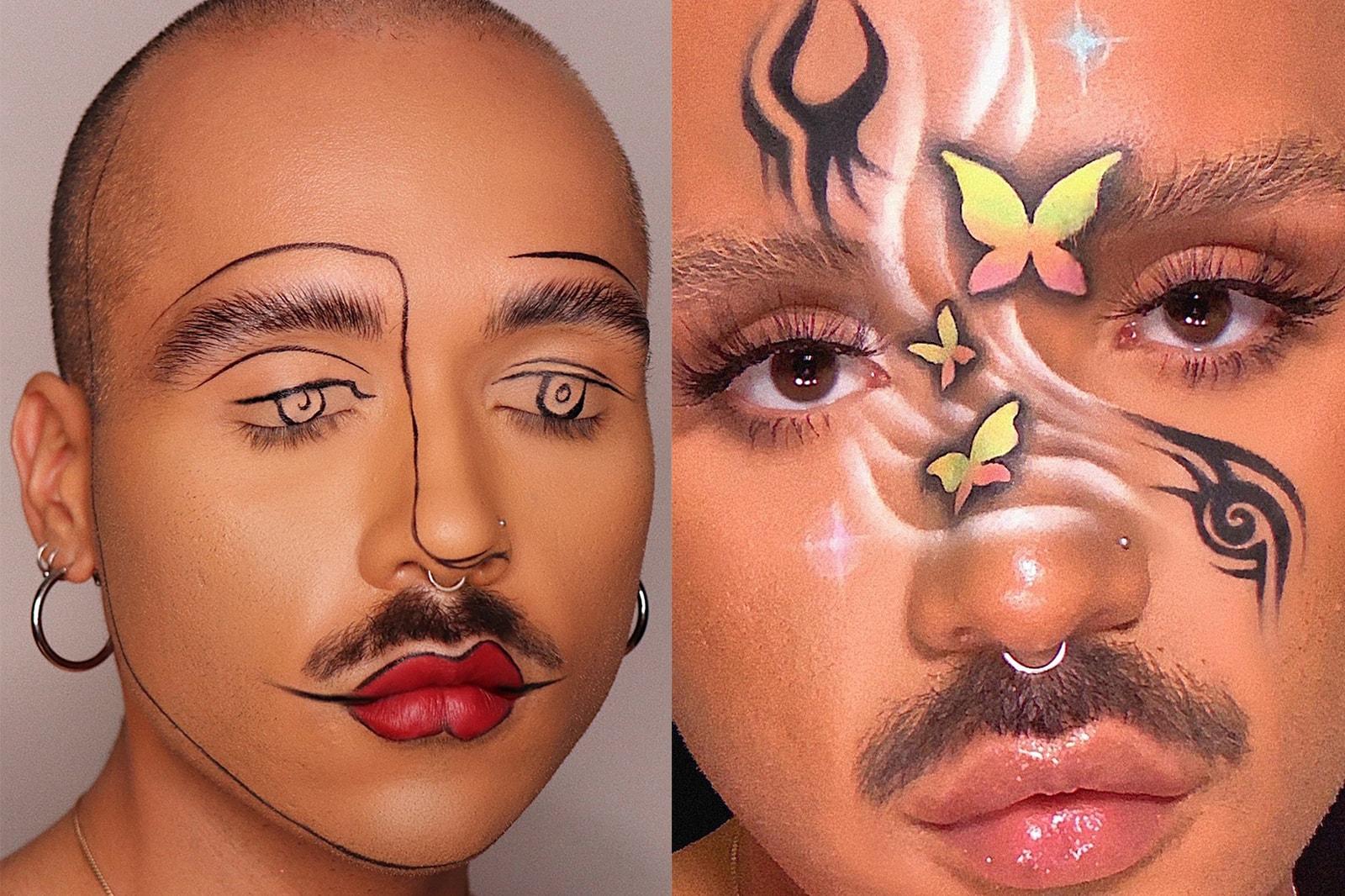 michael brooks the brooks brothers lgbtq queer makeup artist MUA London
