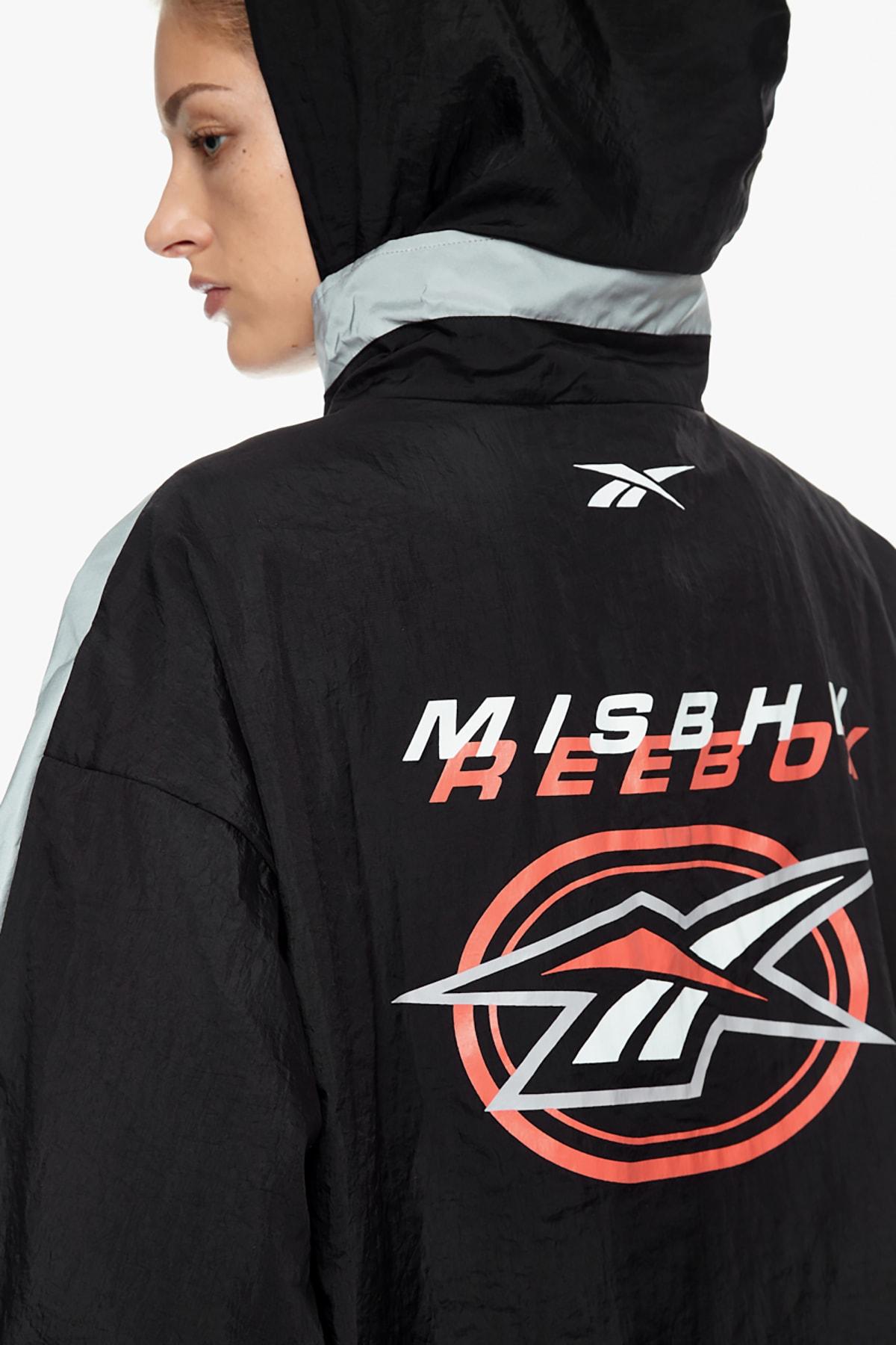 MISBHV x Reebok Collaboration Collection Bodysuit Silver