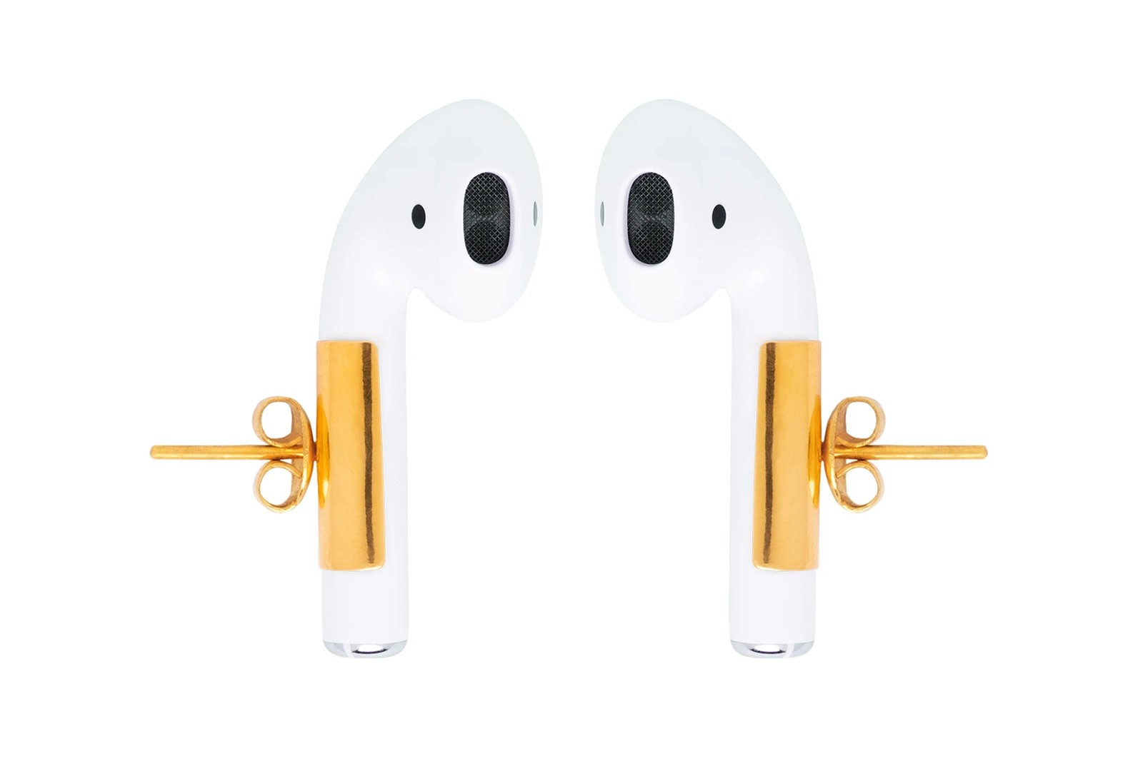 misho airpods earrings jewelry pebble minimal active tall pods gold accessories