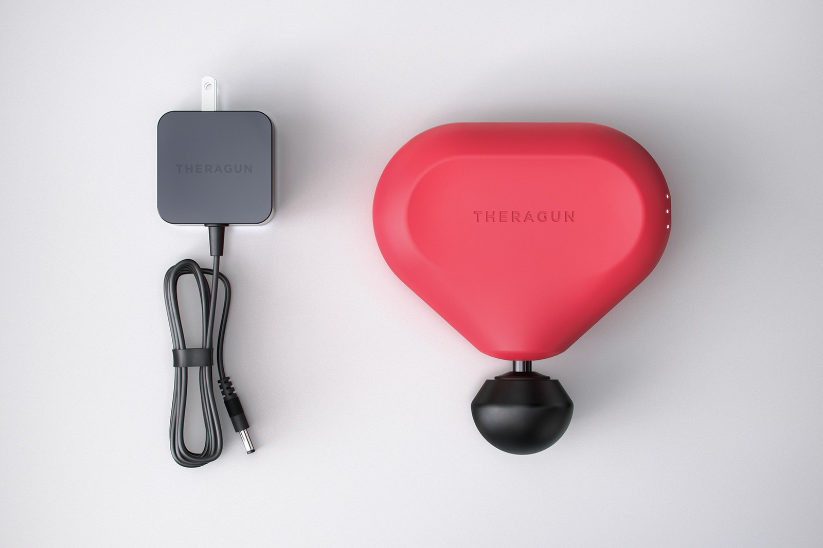 therabody red collaboration theragun pro massage tool