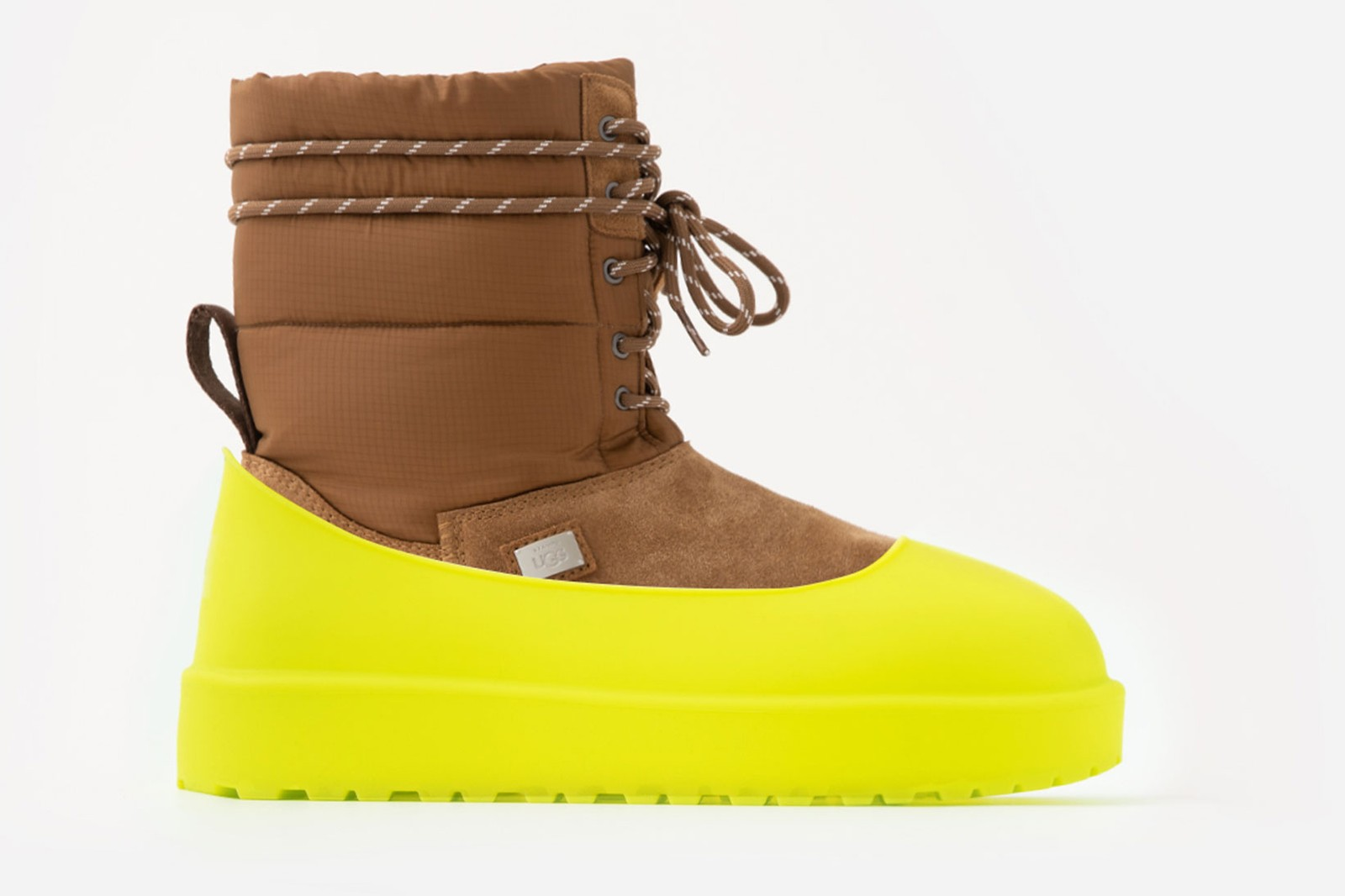 stampd ugg boots slides slippers tasman fluff collaboration 3-in-1 covers liners detachable fall winter shoes release