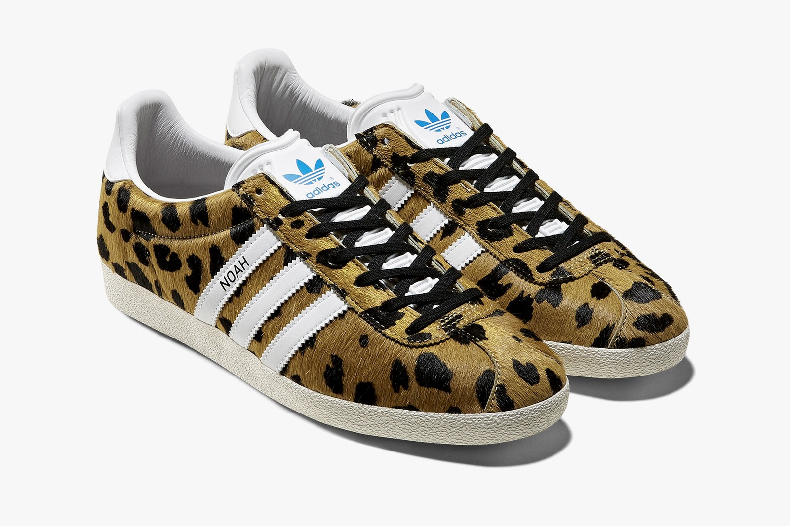 noah adidas originals gazelle camo cheetah sneakers collaboration price release date