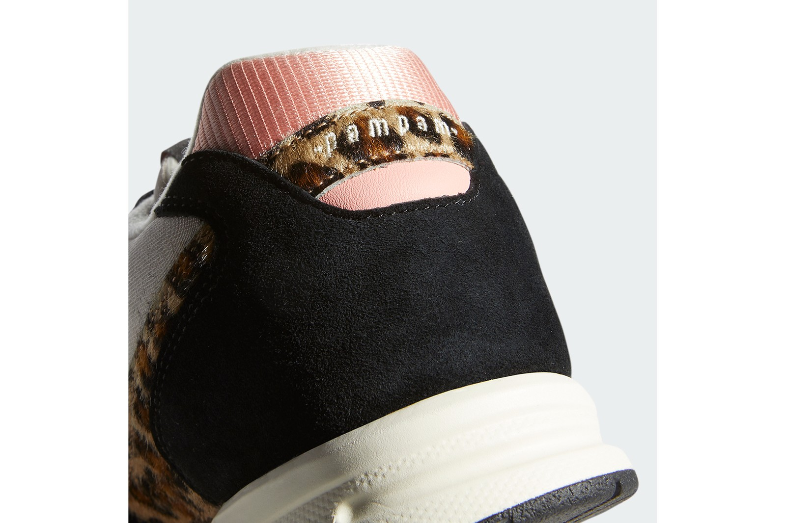 adidas originals pam pam collaboration zx 1000 sneakers pink leopard print black white footwear shoes sneakerhead