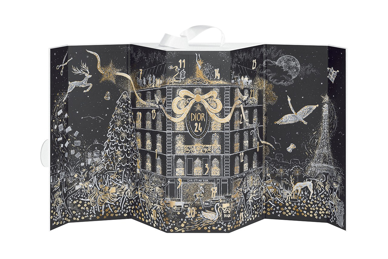 diptyque Beauty Advent Calendar Candle Fragrance Perfume Skincare Holidays Christmas 2020 Packaging Gift Paris