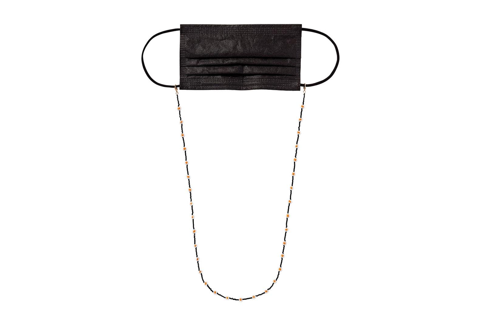 best mask chains straps holders beads pearls accessories sundae school gelareh mizrahi eliou covid19 coronavirus