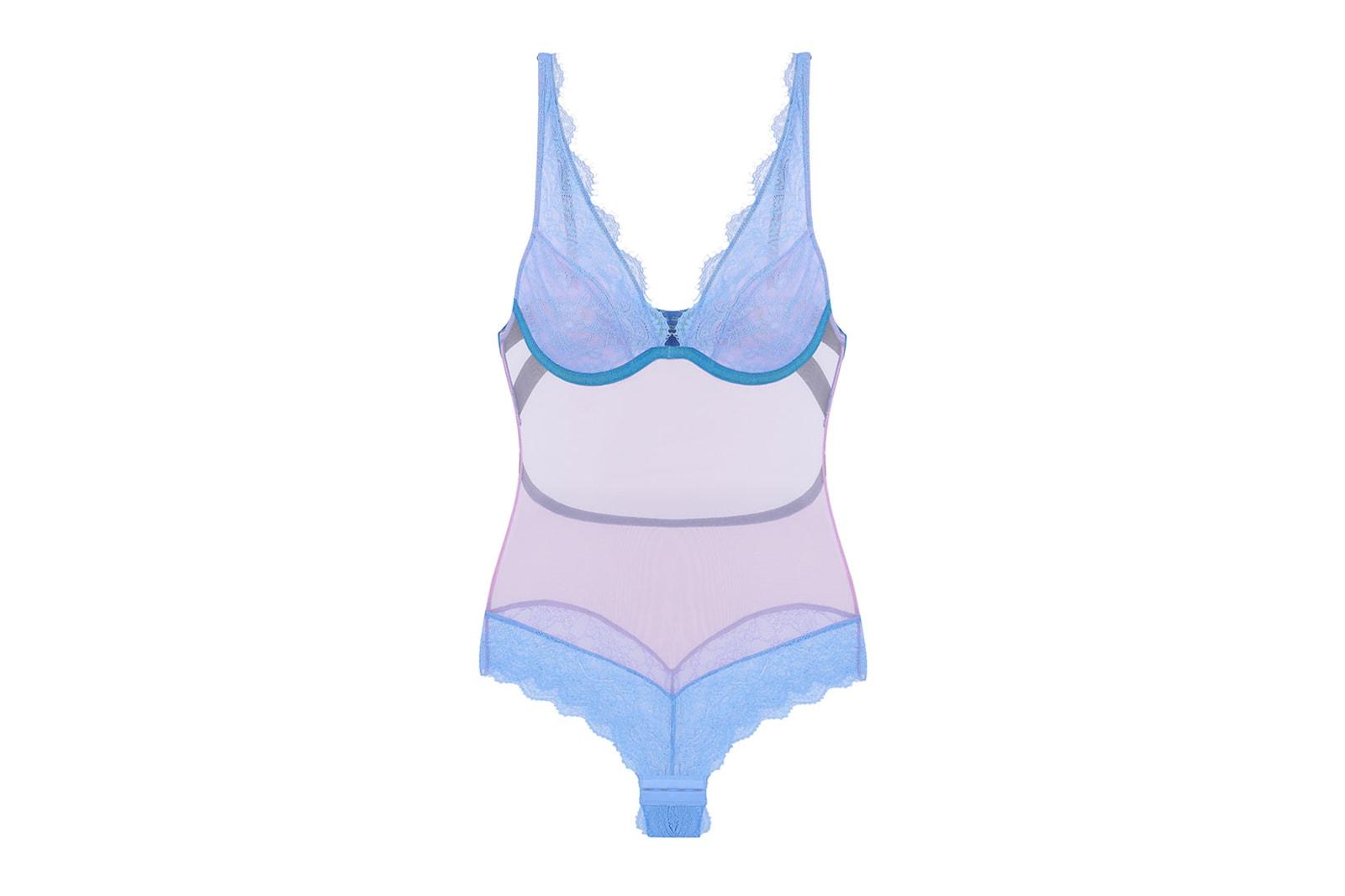 dora larsen lingerie lace bras underwear bodysuits sets sustainable eco-friendly jessica lily release