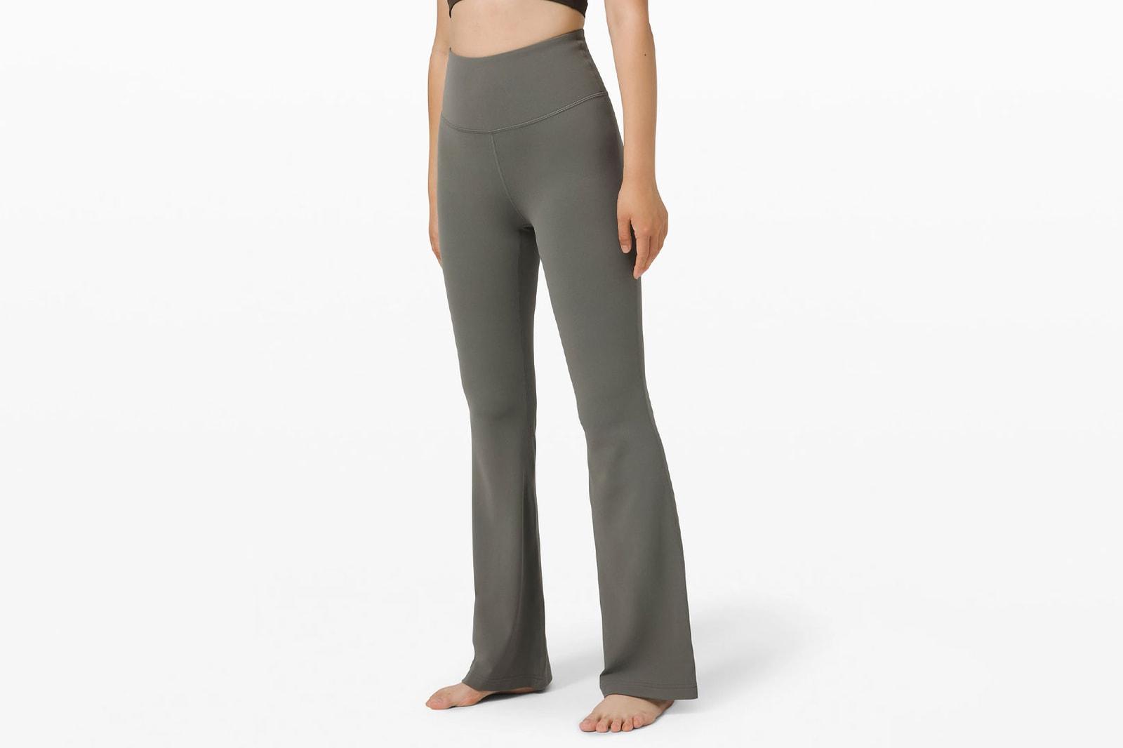 best flared leggings yoga pants trend tiktok gen z lululemon nike live the process