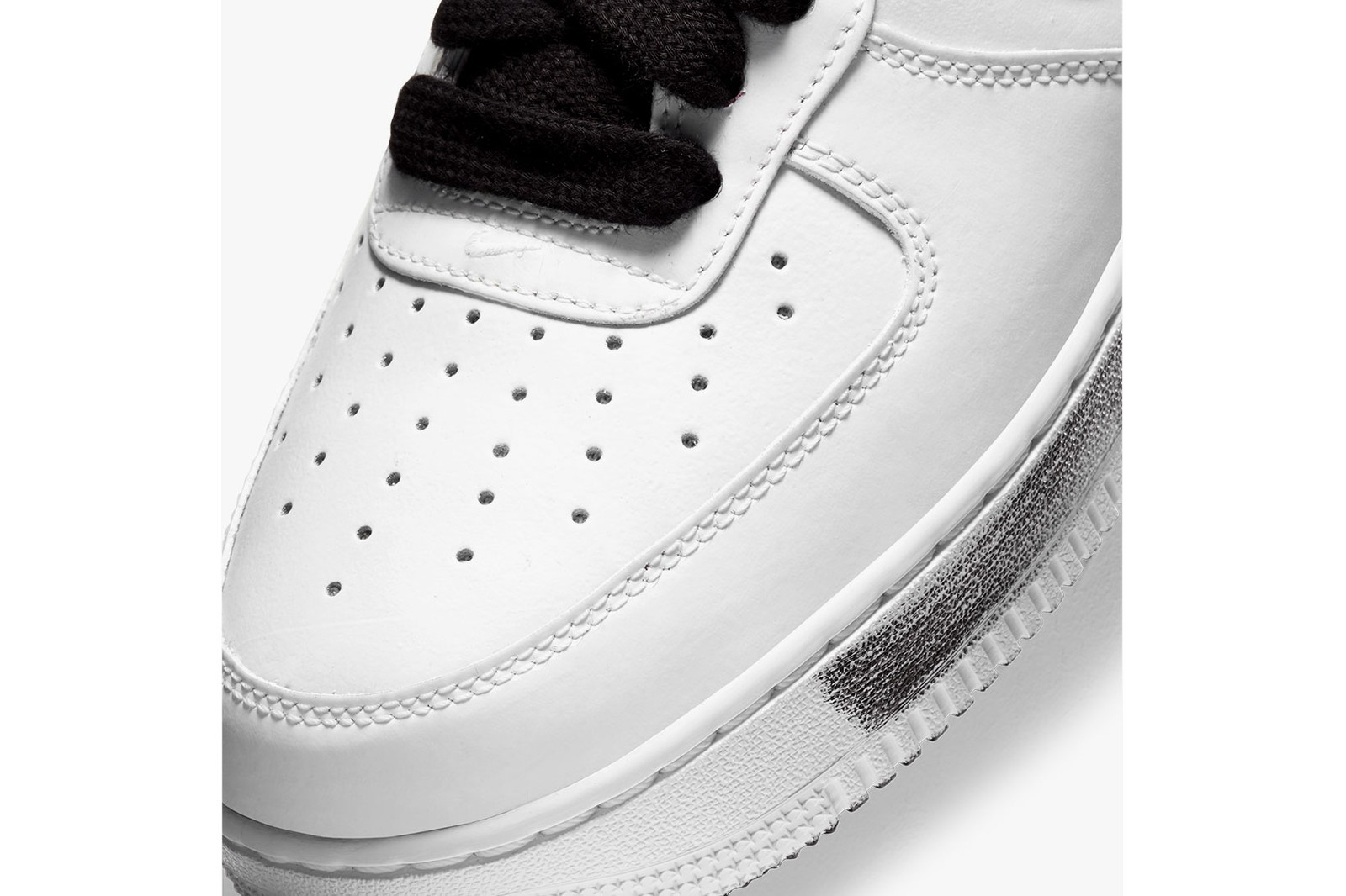 g-dragon peaceminusone nike air force 1 af1 para-noise white pmo official look release where to buy